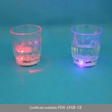 50ml led plastic shot glass cup