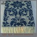 Hot vente en gros acrylique jacquard couverture dans le dernier design!