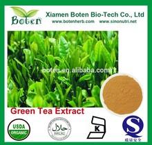 Polyphenol 90% Catechins 70% EGCG 40% Green Tea Extract Powder