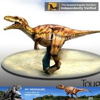 realistic dinosaur halloween velociraptor costume