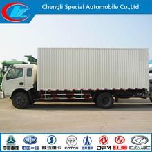 Dongfeng Cargo lorry 160hp cargo lorry 10ton van lorry cargo van