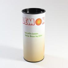 Customizable food packaging aluminum foil kraft paper tube