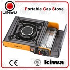 ceramic single infrared burner portable butane gas stove super flame outdoor camping use