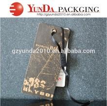 Professinal paper hang tag ,kraft paper hangtag,custom paper tag