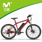 """26"""" electric mountain bikes made in china CE EN15194 approval"""