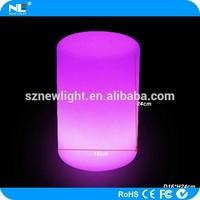 plastic material LED Cylinder / LED Cylinder lamp / LED illuminated Cylinder light