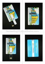 Plastic credit card usb flash drive manufacturer ,4gb 8gb usb business card promotional ,custom card usb stick.
