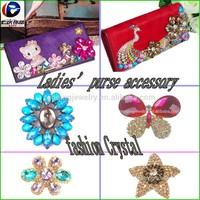 fashion crystal decoration for purse