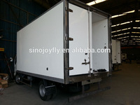 frozen seafood insulated box truck body