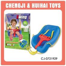 Outdoor toys plastic swing for children