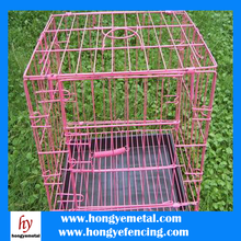 Outdoor Small Round Style Wire Hanging Bird Cage