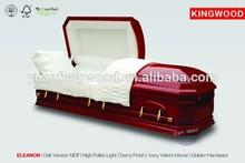 ELEANOR funeral supplies wood casket timber homes