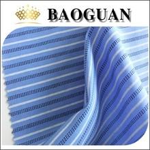 100 percent cotton printed stripe shirting fabric poplin