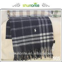 Best selling SGS certified Travel Fancy pure wool blankets