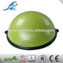 Bosu balancing ball with free pump and expander handle