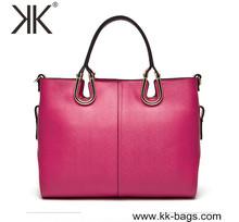 Factory Handcrafted Women Leather Fashion Handbag 2014