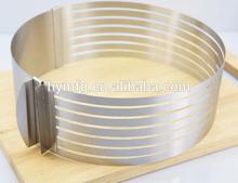 Round stianless steel adjustable ring