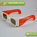 cartón gafas 3d circular polarizado gafas 3d de papel