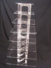 8 Layers Detachable Strong Wedding Acrylic Cake Display Stand