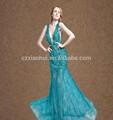 elegant pailletten perlen Schweiß herz tüll meerjungfrau fischschwanz abendkleid 2015