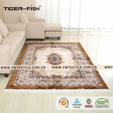 Customized Printing Faux Silk Persian Carpet, Anti-slip Area Rug