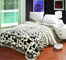 Hot sales 3kg 2ply 100% polyester double mink blanket 200*240cm
