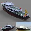 Comercial 33.8m barco de pesca para la venta/de fibra de vidrio de barco de pesca