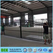 Factory Different Steel Gate Designs In Village