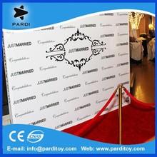 Digital printing event advertising vinyl backdrop banner