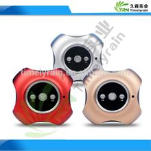portable car ionizer air purifier Multifunction Negative Ion Generator Air Purifier Bluetooth Car Air Purifier