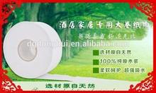 100% Wood Virgin Pulp Eco-friendly toilet paper jumbo rolls for converting