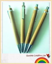 Factory prices Promotional eco-friendly Recycled wooden pen with custom logo