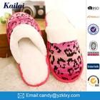 Woman footwear designs cashmere bedroom or indoor leisure slipper