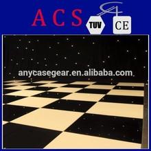 2015 ACS Teak Wood Dance Floor Project,black and white dance floor,dancing floor with teak wood