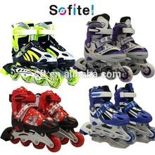 2015 nuovo stile di pattini a rotelle per la vendita, pu ruote in linea scarpe da skate, velocità pattini in linea per la vendita