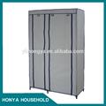 Decorativa portas do armário de metal armário guarda-roupa