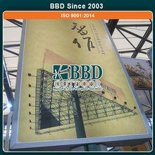 Competitive price nice design outdoor useful scrolling billboard structure