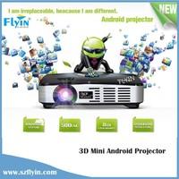 Home theater use WXGA 1000 ansi lumens 1080P Android WiFi 3d mini led projector