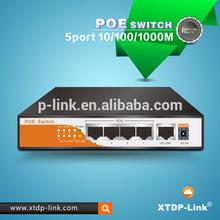 10GB best 5 ports gigabit poe switch,metal case 4 port network poe switch,network switches
