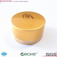 OEM ODM gold aluminum bottle cap for bottle and jar,Aluminium bottle caps