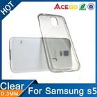 (Acego) Guangzhou transparent tpu plastic case for samsung galaxy s5