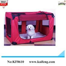 kaifeng factory Top quality small-sized metal travel pet bag and portable dog bag
