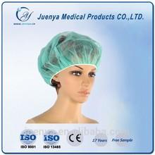 Médico cirúrgica não tecido descartável tampão da enfermeira chapéu