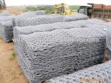 galvanized steel gabion cage/gabion steel cage/hesco barriers for sale