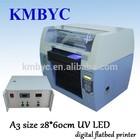 a3 size high speed digital flatbed uv acrylic sheet printing machine