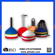 plastic marking agility speed cone with holder dome cone roadblock(FD698B)