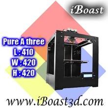 3D Rapid Prototyping Machine, High Precision Large Build Size 3D Printer, 410*420*420mm (@A309)