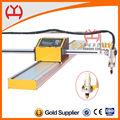 la llama de la antorcha estándar equipado longmantenimiento portátil de plasma del cnc de corte de la máquina herramientas