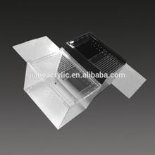 JA-TL-068 Small acrylic plastic terrarium pet reptile cage