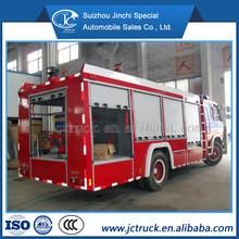 dongfeng camion dei pompieri schiuma modello